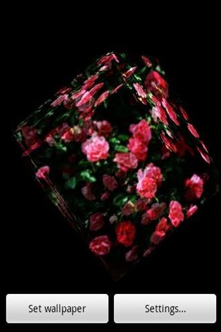 3Dの花9