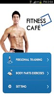 Screenshot of Fitness Cafe