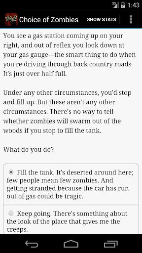 Choice of Zombies - screenshot