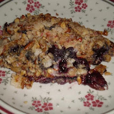 Apple Blueberry Crunch