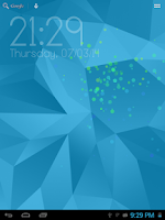 Screenshot of Galaxy S5 Digital Clock LWP