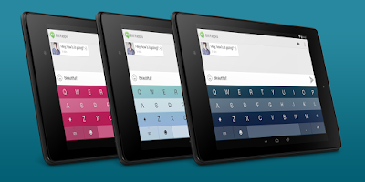Screenshot of Fleksy Keyboard Trial