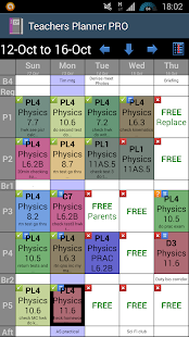 Teachers Planner PRO - screenshot