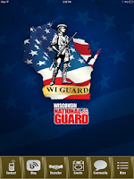 Screenshot of Wisconsin National Guard
