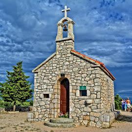 Church Sv.Konstancije by Borna Ćuk - Buildings & Architecture Public & Historical ( church, murter, jezera, sv.konstancije, dalmatia )