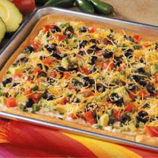 Taco Pan Pizza