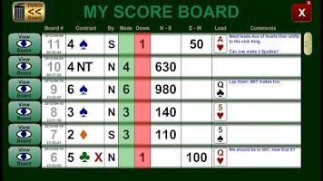 Screenshot of Bridge Diary