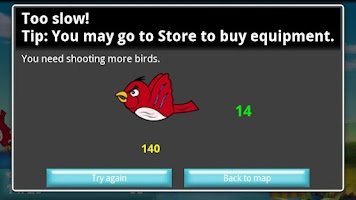 Screenshot of Shoot the Birds - Free