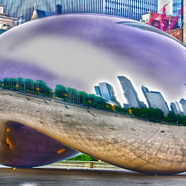The Bean by Imagesby Jake - City,  Street & Park  City Parks ( skyline, hdr, bean, color, chicago )
