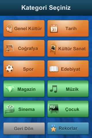 Bilgi Yarışı - screenshot
