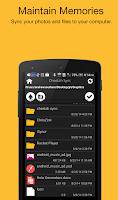 Screenshot of Folder Sync