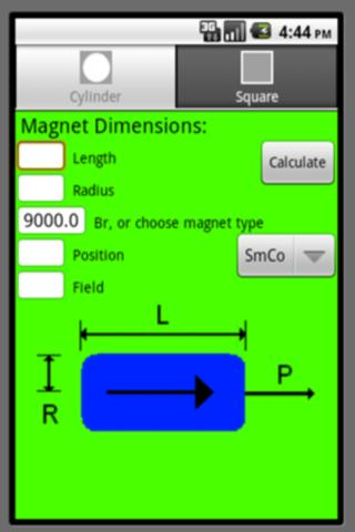 Permanent Magnet Calculator