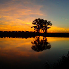 Sunset on the magical lake.. by Željko Salai - Instagram & Mobile Other