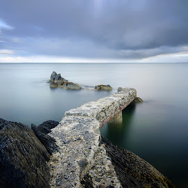 Stroove Pier by Enda McAuley - Landscapes Waterscapes ( ireland, stroove, pier, inishowen, donegal )
