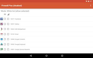 Screenshot of Firewall Plus