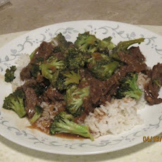 Sassy's Beef and Broccoli