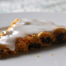 Carrot Cake Scones With Cream Cheese Icing