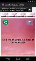 Screenshot of Love Quotes and Status