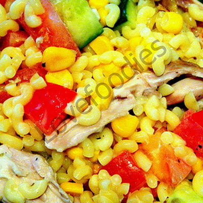 Honey Mustard Chicken Pasta Salad