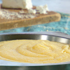 Creamy Polenta with Goat Cheese