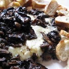 Baked Brie and Mushroom Sourdough Appetizer