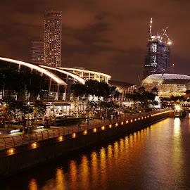 by Chong Lee Yee - City,  Street & Park  Night