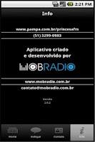 Screenshot of Rede Pampa/Rádio Princesa FM