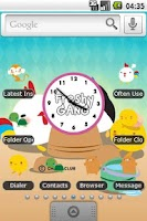 Screenshot of Freshy Gang Full Theme