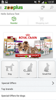 Screenshot of zooplus.com