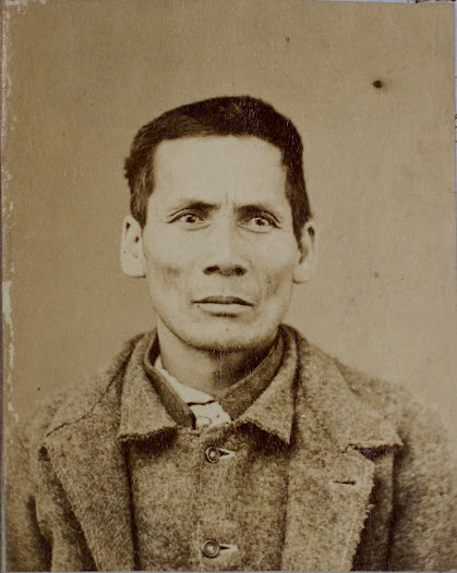 Gee Dee the first Chinese man to be photographed, 1860