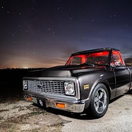 72 Chevy Night  by Shane Elliott - Transportation Automobiles