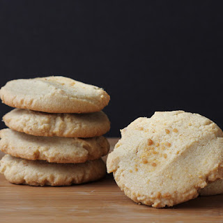 Maple Sugar Butter Cookies