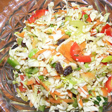 Thai Cabbage Coleslaw