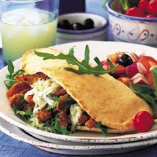 Greek Chicken Pitta Pockets