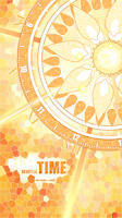 Screenshot of Time Wheel Live Locker Theme