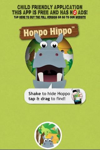 Hide Seek Hoppo Hippo Free