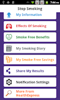 Screenshot of Puff Away-Stop Smoking Today