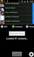 Screenshot of One Touch Facebook