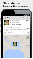 Screenshot of GPS Tracker Pocket Nanny Child