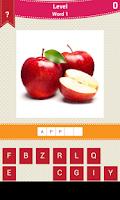 Screenshot of Fruit And Vegetable Names