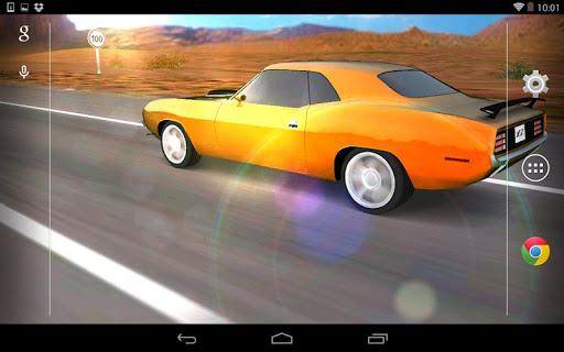 3D Car Live Wallpaper - screenshot