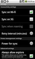 Screenshot of Titanium Media Sync