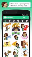 Screenshot of Bitmoji - Your Avatar Emoji
