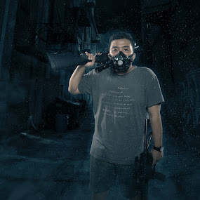 FX by Dika Qkeyz - Digital Art People ( gun | man )