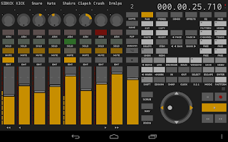 Screenshot of TouchDAW free