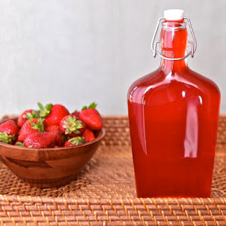 Homemade Strawberry Syrup