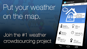 Screenshot of Mobile Weather Station