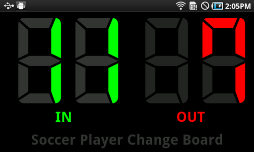 Player Change Board