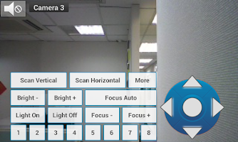 Screenshot of Viewer for Vivotek cameras
