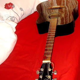 My guitar by Pierre Opperman - Artistic Objects Musical Instruments
